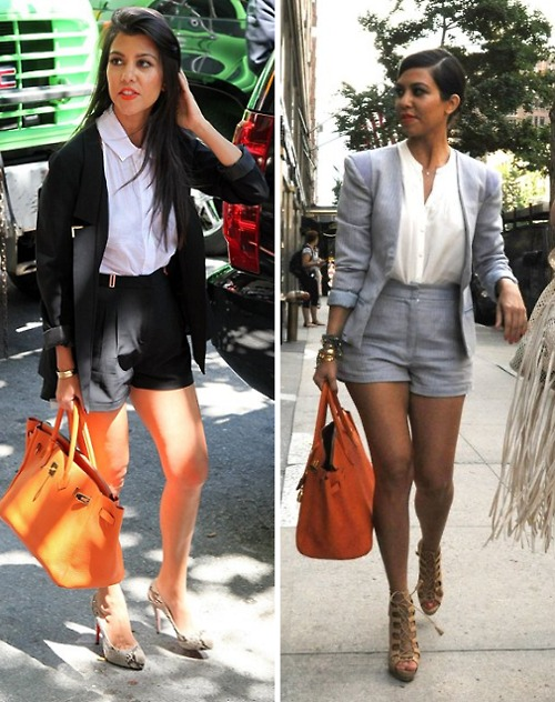 Celeb Fashion Trend The Short Suit Photos Jinna Loves