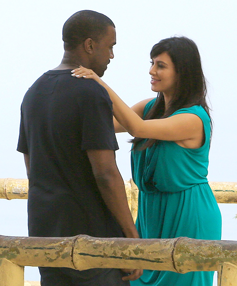 Kim Kardashian and Kanye West in Rio de Janeiro, Brazil jinnaloves.comPic2