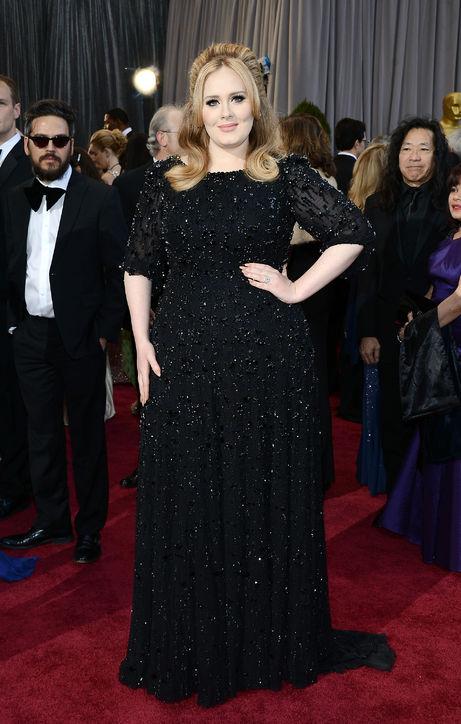 Oscars 2013 Adele jinnaloves.comPic1
