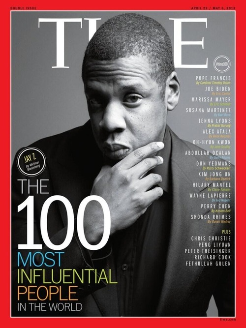 Jay-Z for Time Magazines 100 Most Influential People Issue www.jinnaloves.comPic1