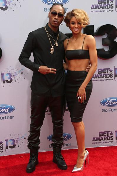 2013 BET Awards Ciara and Future