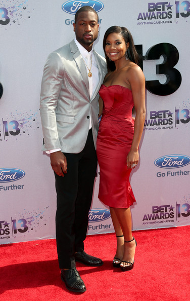 2013 BET Awards Dwyane Wade and Gabrielle Union