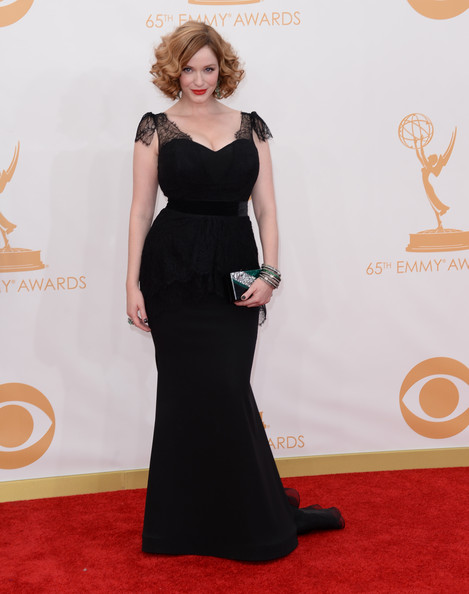 Christina Hendricks 2013 Emmy Awards