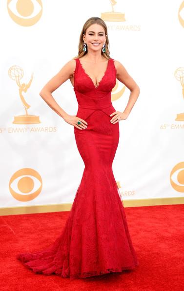Sofia Vergara 2013 Emmy Awards
