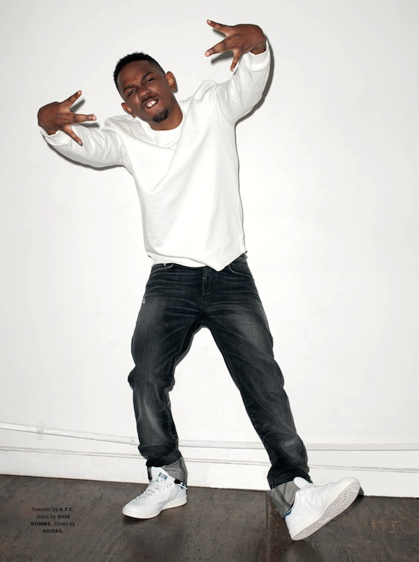 Kendrick Lamar by Terry Richardson for Document Journal www.jinnaloves.comPic2
