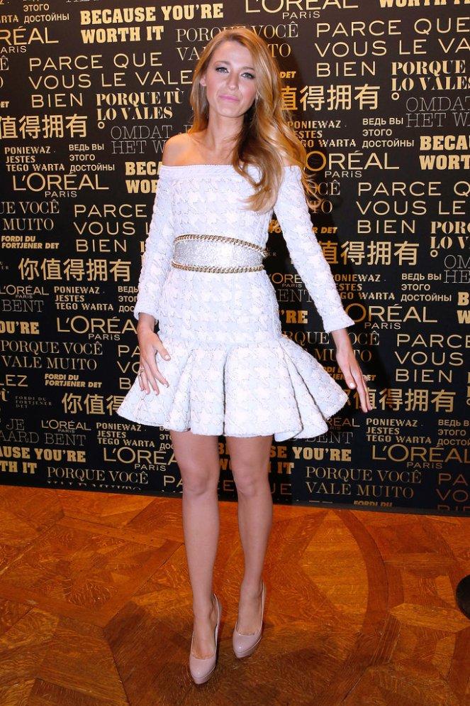 Blake Lively Named New Face L'Oreal Paris www.jinnaloves.com
