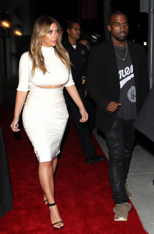 Kim Kardashian and Kanye West Dream for Africa Gala www.jinnaloves.comPic1