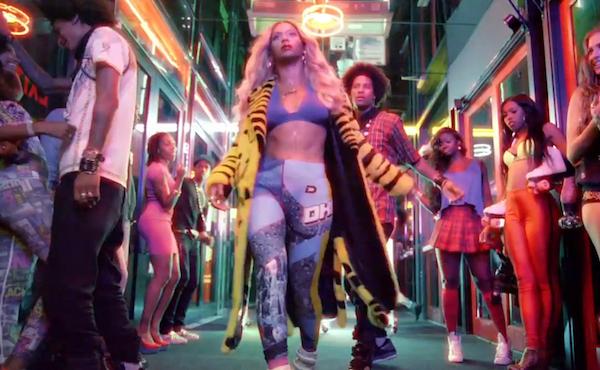 Beyonce in the Blow Video www.jinnaloves.com