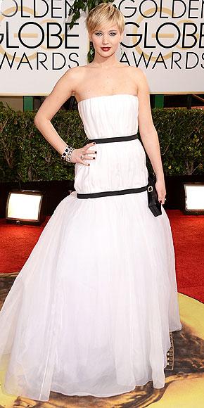 Jennifer Lawrence Golden Globes 2014 www.jinnaloves.com
