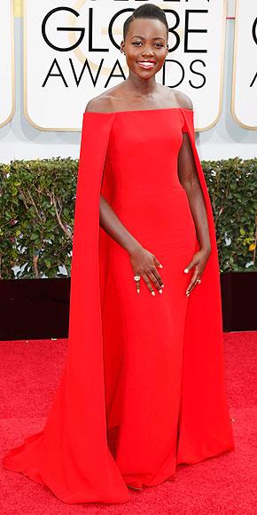 Lupita Nyongo Golden Globes 2014 www.jinnaloves.com