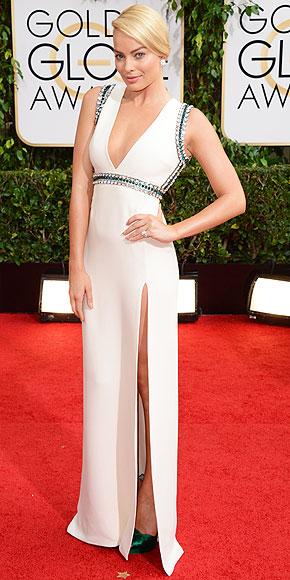 Margot Robbie Golden Globes 2014 www.jinnaloves.com