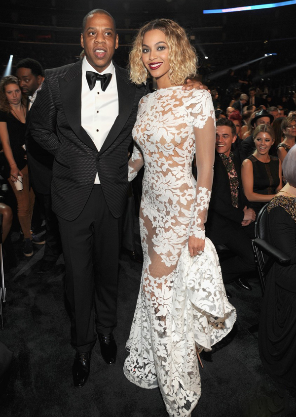 Beyonce Stuns at the 2014 Grammy Awards www.jinnaloves.comPic4