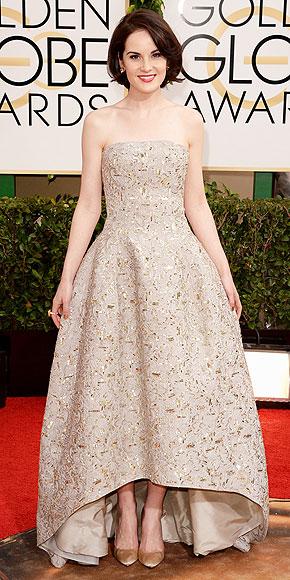 Michelle Dockery Golden Globes 2014 www.jinnaloves.com