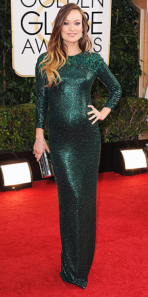 Olivia Wilde Golden Globes 2014 www.jinnaloves.com