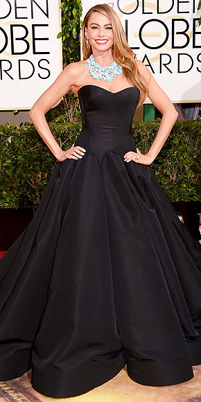 Sofia Vergara Golden Globes 2014 www.jinnaloves.com