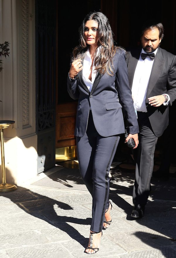 Rachel Roy Head to KimYe's Wedding