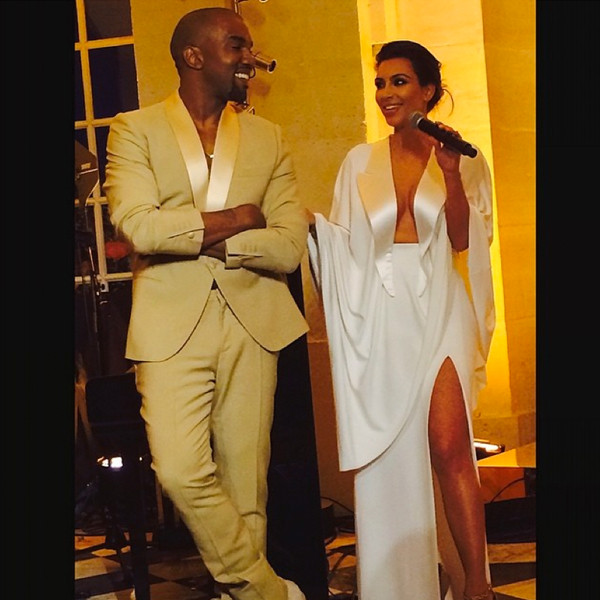 Kim Kardashian and Kanye West Married