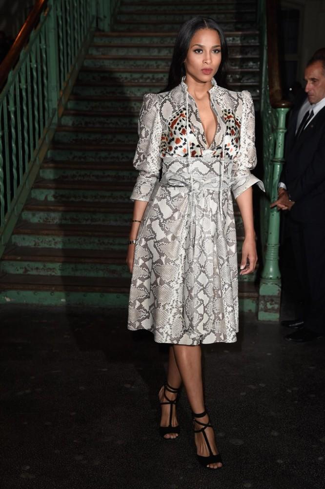 PFW SS15 Ciara in Givenchy