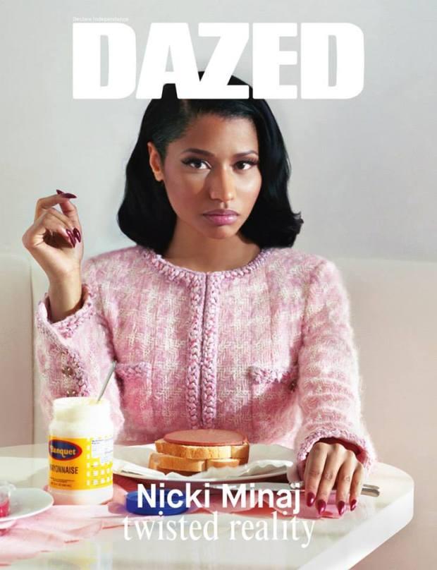 Nicki Minaj Covers Dazed Mag Pic2