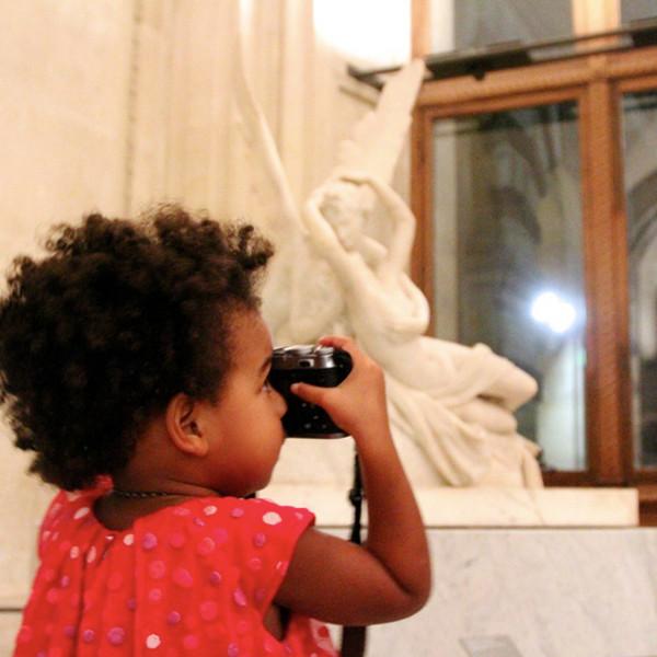 The Carters Visit Museum in Paris Pic4