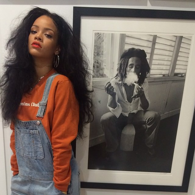 Rihanna Celebrates Thanksgiving 2014 www.jinnaloves.com PIc2