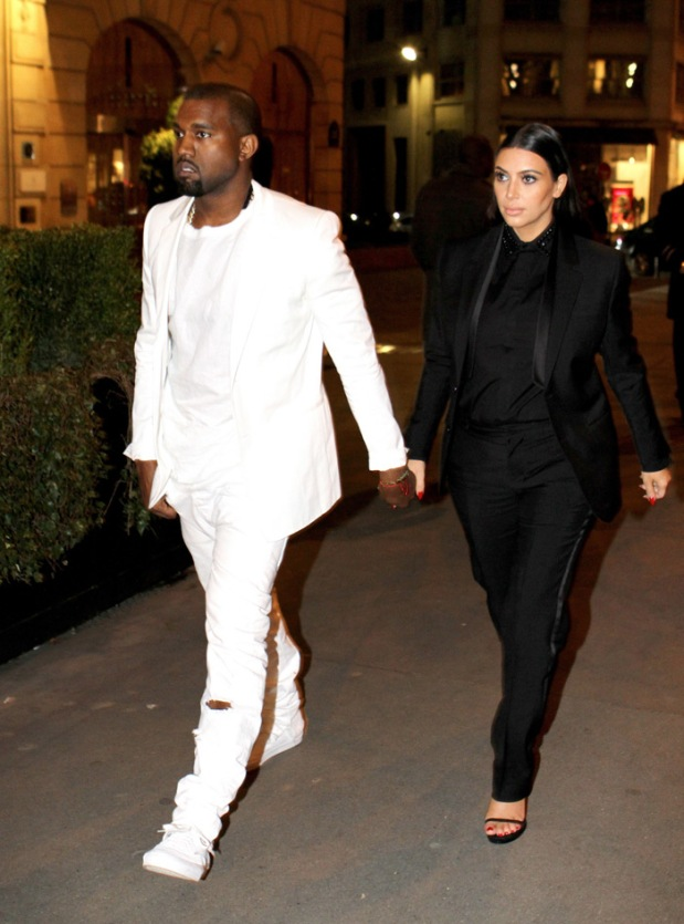 Best Dressed Couples Kim Kardashian West and Kanye West