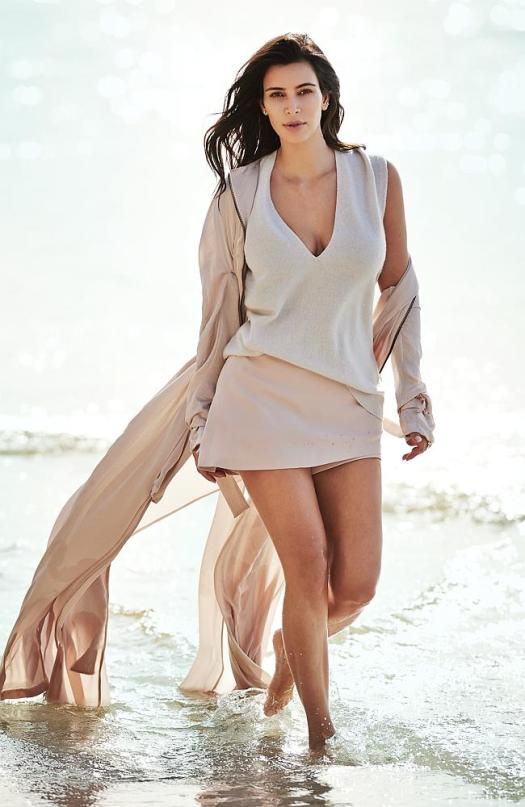 Kim Kardashian West Covers Vogue Australia Feb 2015