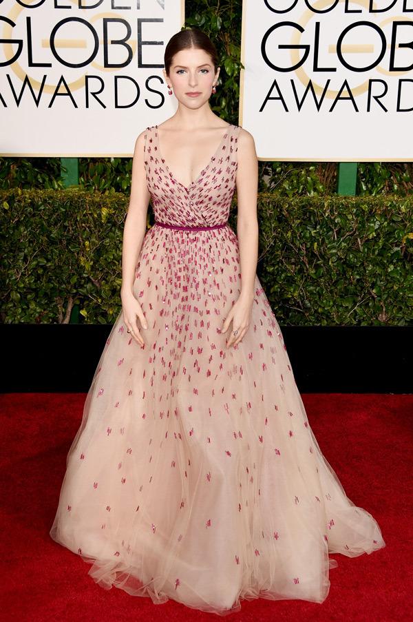 Anna Kendrick Golden Globes 2015