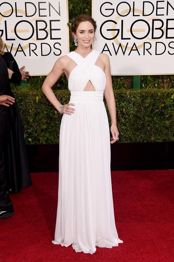 Emily Blunt Golden Globes 2015