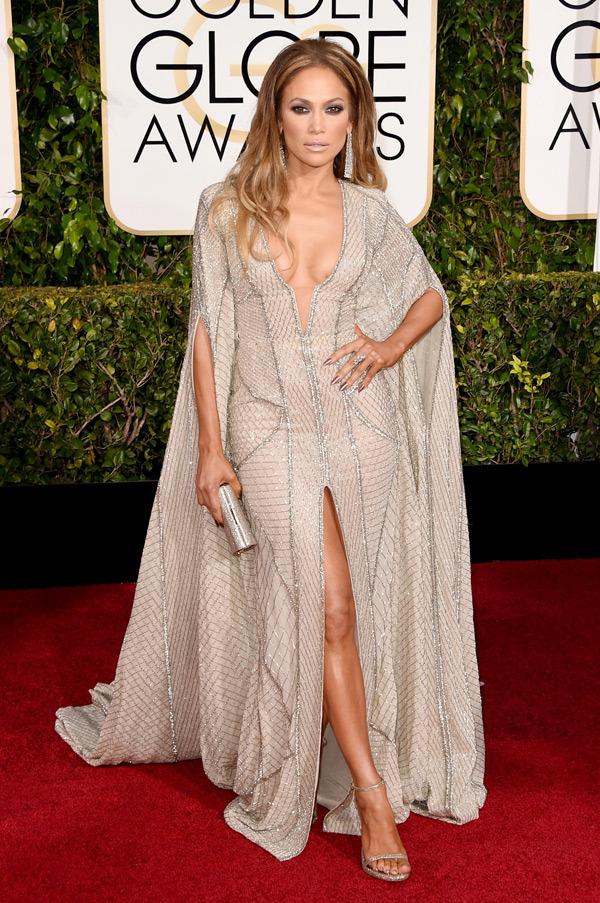 Jennifer Lopez Golden Globes 2015