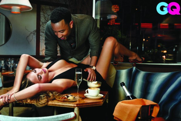 John Legend and Chrissy Teigen for GQ Mag4