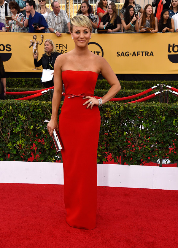Kaley Cuoco Sweeting SAG Awards 2015