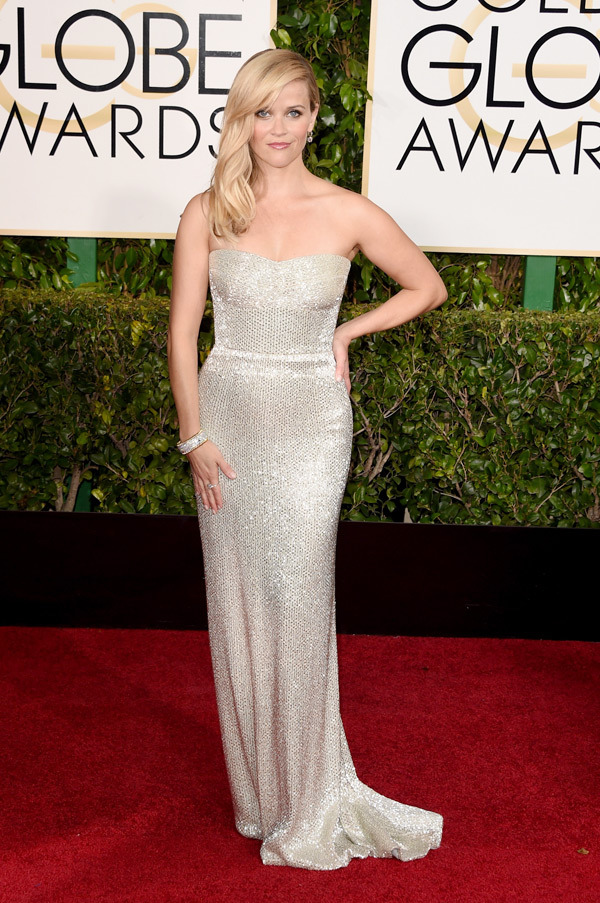 Reese Witherspoon Golden Globes 2015