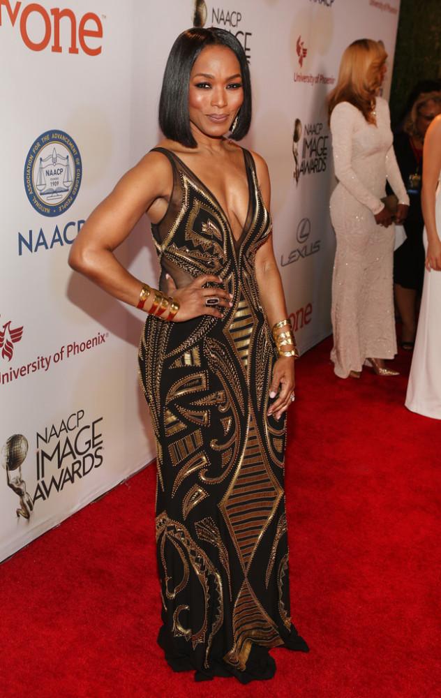 angela Bassett NAACP Image Awards 2015