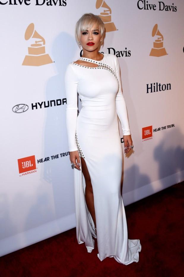 Rita Ora Pre-Grammy 2015