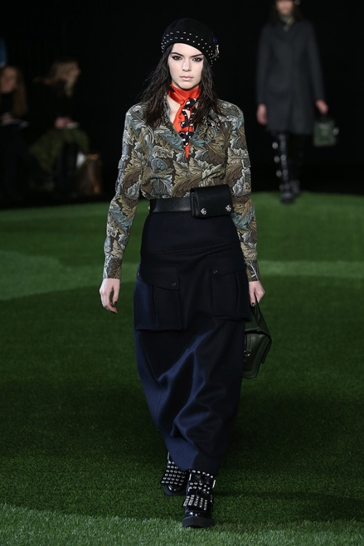Kendall Jenner NYFW 2015 Marc Jacobs