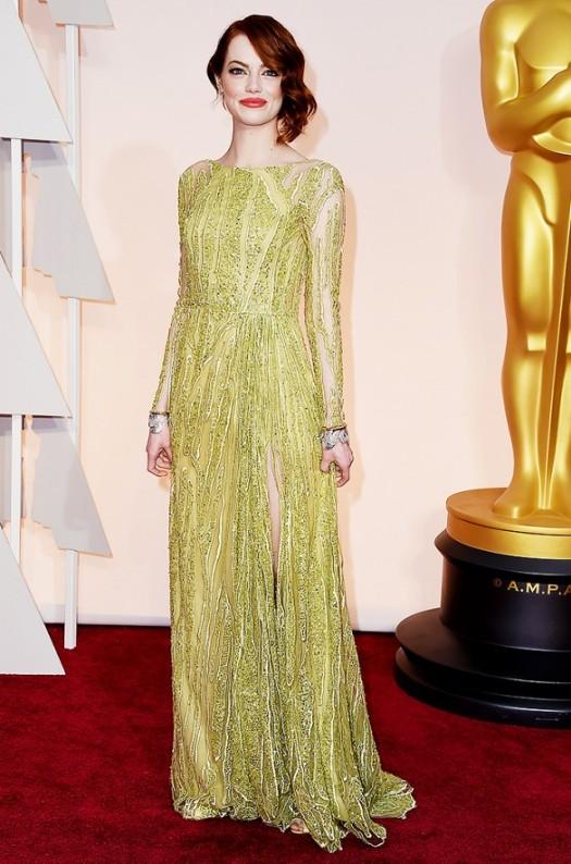 Emma Stone Oscars 2015