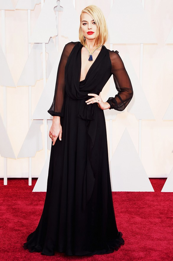 Margot Robie Oscars 2015