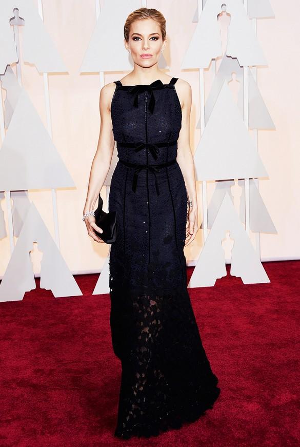 Sienna Miller Oscars 2015