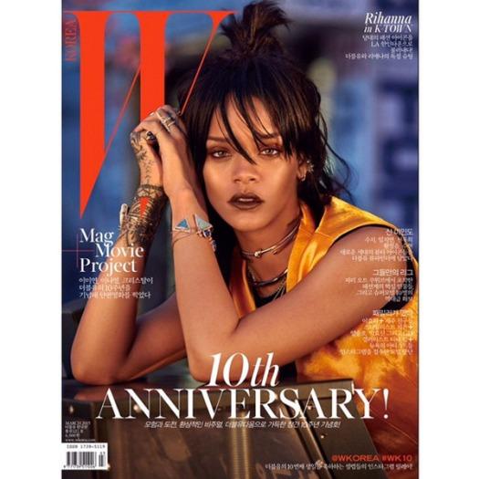Rihanna W Mag Korea Cover 2