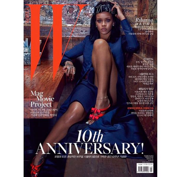 Rihanna W Mag Korea Cover 3