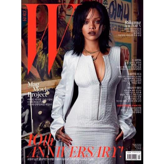 Rihanna W Mag Korea Cover 1