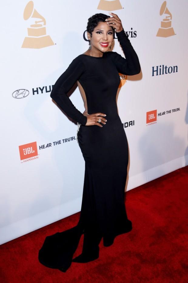 Toni Braxton Pre-Grammy 2015