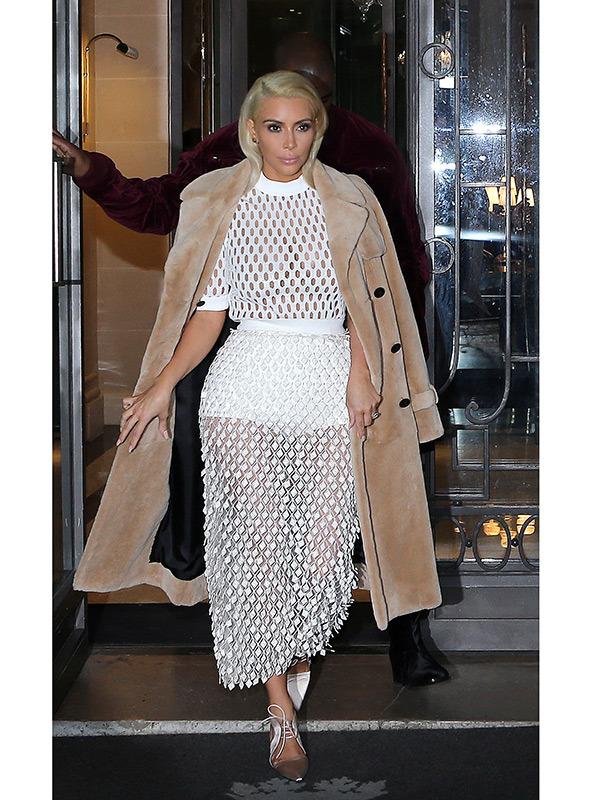 Kim Kardashian-mesh-see-though-dress-paris-spl