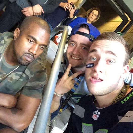 Kanye and fans