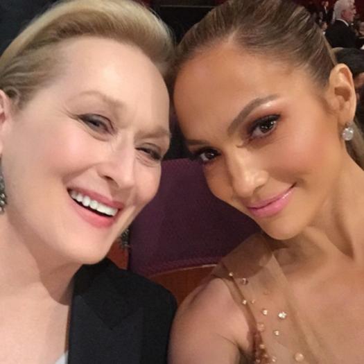 Meryl Streep and J Lo