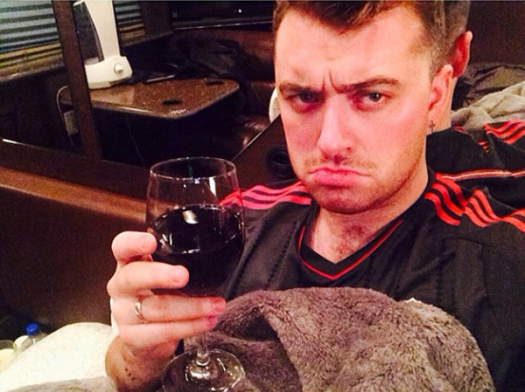 Sam Smith After Break-up Selfie