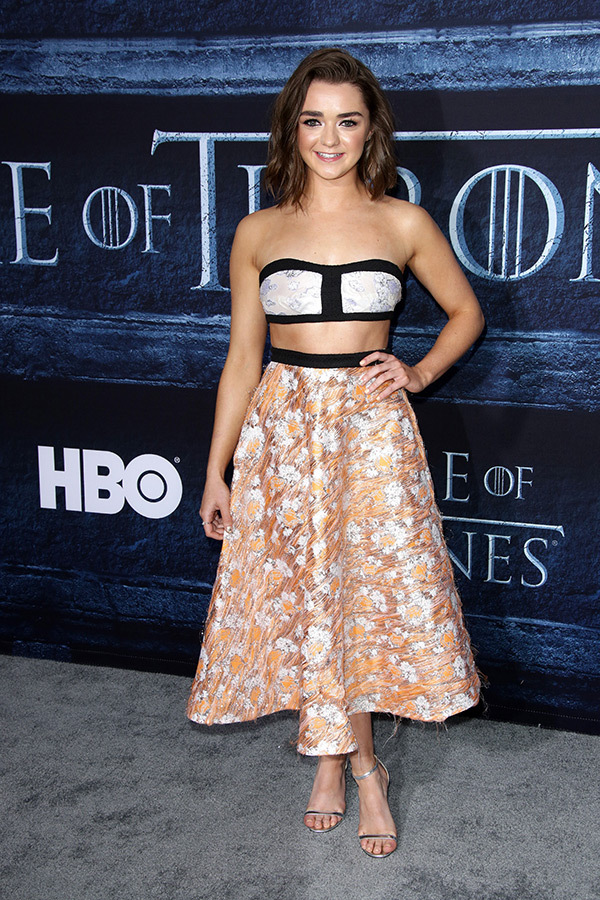 masie-williams-game-of-thrones-premiere-rex