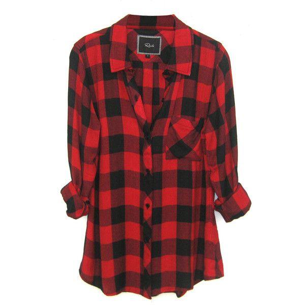 Womens Checkered Shirt